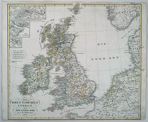 Finnerups Antikvariat Landkort Irland